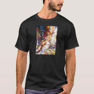 Watercolour Woman Playing Chello T-Shirt