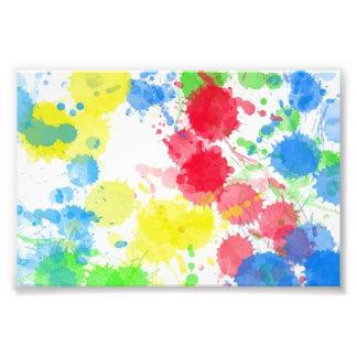 Watercolours coloridos de moda lindos frescos de l foto