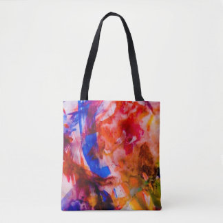 Watercolours on Yorkshire Moors Tote Bag