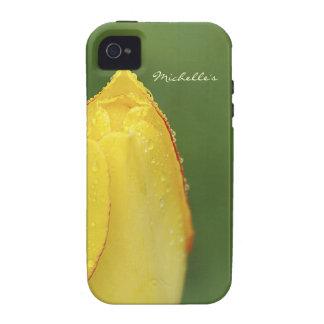 Waterdrop Tulip iPhone 4 Cases
