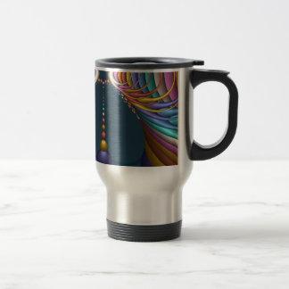 Waterdrops, Abstract, Modern, Contemporary Art Travel Mug