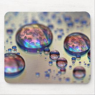 Waterdrops CD Mousemat