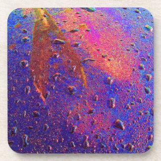 Waterdrops On Car Hood Coaster