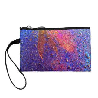 Waterdrops On Car Hood Coin Wallet