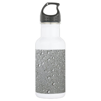 Waterdrops Stainless Steel Water Bottle