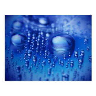 Waterdrops Tarjetas Postales