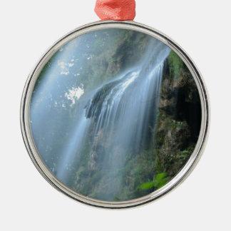 waterfall-2259 adorno navideño redondo de metal