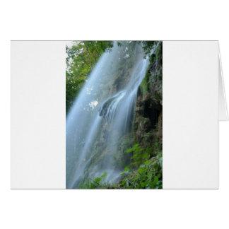 waterfall-2259 tarjeta de felicitación