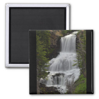 Waterfall 2 Inch Square Magnet