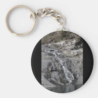 Waterfall #2 basic round button keychain