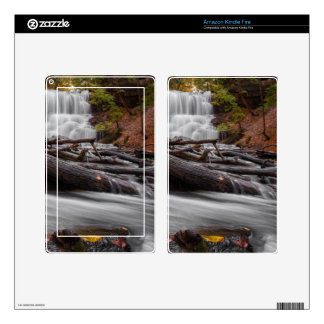 Waterfall 3 decals for kindle fire