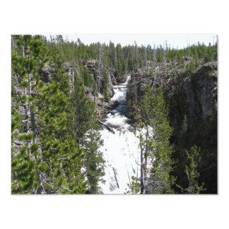 Waterfall 4.25x5.5 Paper Invitation Card