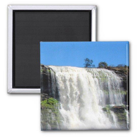 Waterfall 4 Venezuela Jungle Landscape Fine Art Magnet