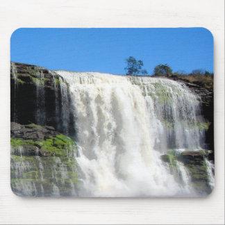 Waterfall 4 Venezuela Jungle Landscape Fine Art Mousepads