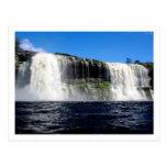 Waterfall 4 Venezuela Jungle Landscape Fine Art Post Cards