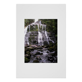 Waterfall, Adelaide, South Australia Poster