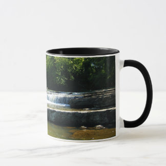Waterfall and Old Rock Dam Mug