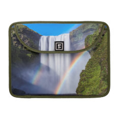 Waterfall And Rainbow Sleeve For Macbooks at Zazzle
