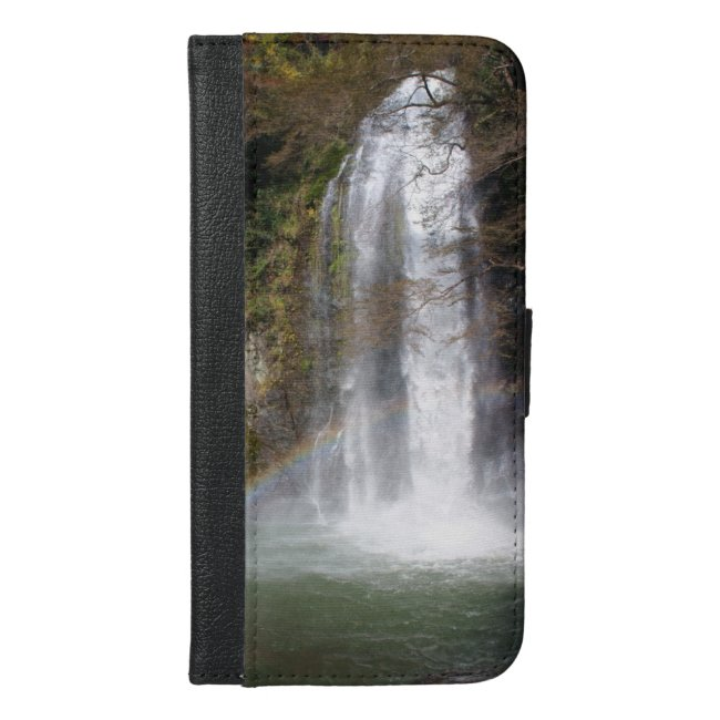 Waterfall and Rainbow Wallet Case