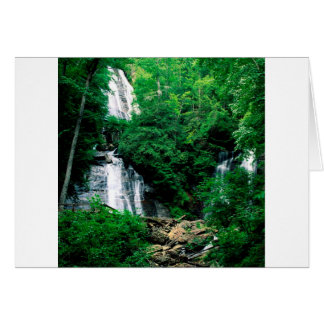 Waterfall Anna Ruby Chattahoochee Georgia Card