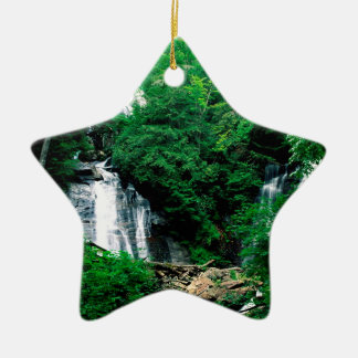 Waterfall Anna Ruby Chattahoochee Georgia Ceramic Ornament