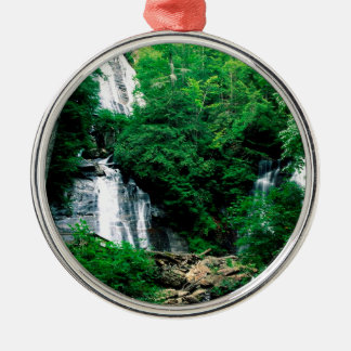 Waterfall Anna Ruby Chattahoochee Georgia Metal Ornament