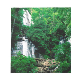 Waterfall Anna Ruby Chattahoochee Georgia Memo Notepad