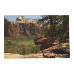 Waterfall at Emerald Pools in Zion National Park Placemat