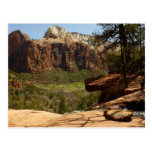 Waterfall at Emerald Pools in Zion National Park Postcard