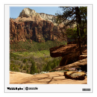 Waterfall at Emerald Pools in Zion National Park Wall Sticker