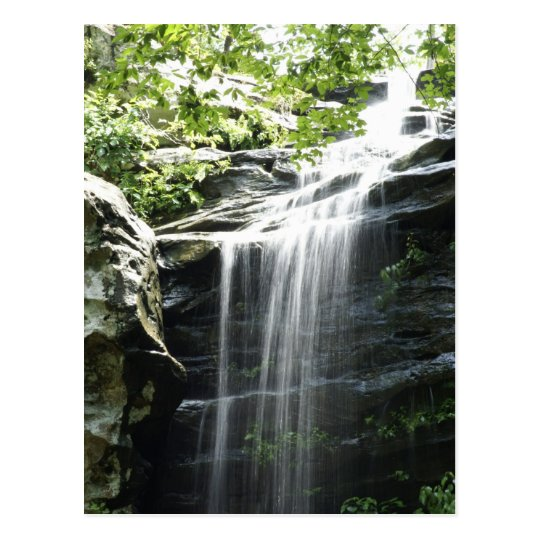 Waterfall at Fern Clyffe State Park Postcard