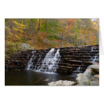 Waterfall at Laurel Hill State Park I Card