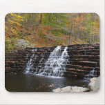 Waterfall at Laurel Hill State Park I Pennsylvania Mouse Pad