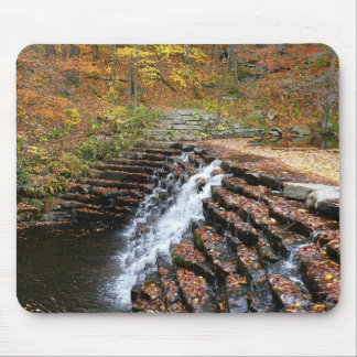 Waterfall at Laurel Hill State Park II Mouse Pad
