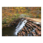 Waterfall at Laurel Hill State Park II Photo Print