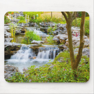 Waterfall at Lingnan Garden Mouse Pad