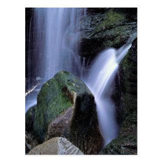 Waterfall at Lundy Bay, North Cornwall, England Postcard