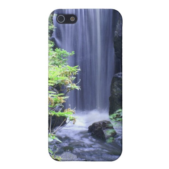 Waterfall at Missouri Botanical Garden iPhone SE/5/5s Cover