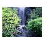Waterfall at Missouri Botanical Garden Postcard