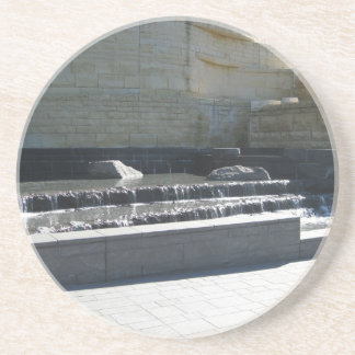 Waterfall at Museum Drink Coaster