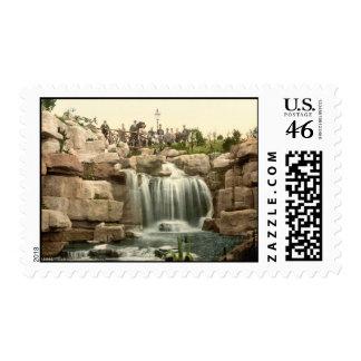 Waterfall at Ramsgate Kent England Postage Stamps