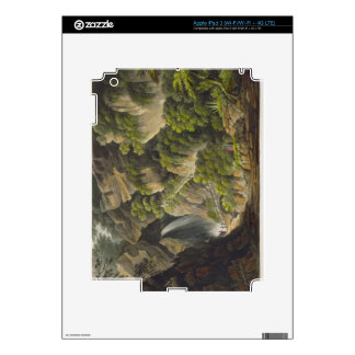 Waterfall at Shanklin, from 'The Isle of Wight Ill iPad 3 Skin