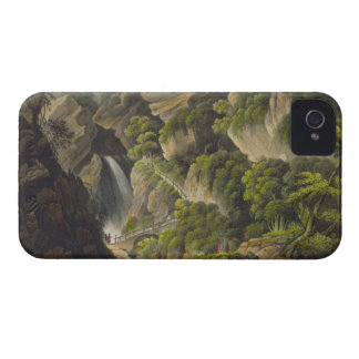Waterfall at Shanklin, from 'The Isle of Wight Ill iPhone 4 Case-Mate Cases