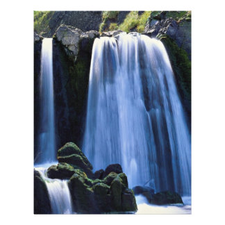 Waterfall at Spekes near Hartland, North Devon, En Flyer