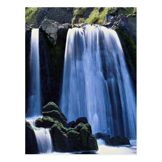 Waterfall at Spekes near Hartland, North Devon, En Postcard