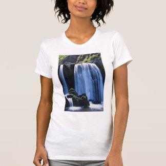 Waterfall at Spekes near Hartland, North Devon, En T Shirts