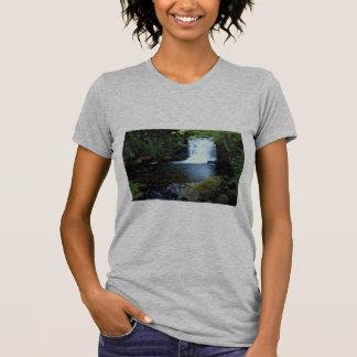 Waterfall at Watersmeet, North Devon, England Shirts