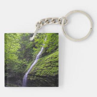 Waterfall at Watkins Glen, NY Keychain