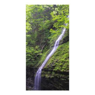 Waterfall at Watkins Glen, NY Photo Greeting Card