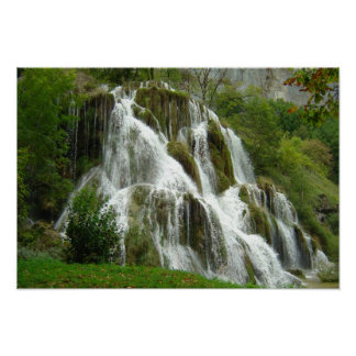 Waterfall, Baume les messieurs Posters